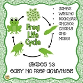 Frog Life Cycle Unit!  Lots of fun activities for 1-3!