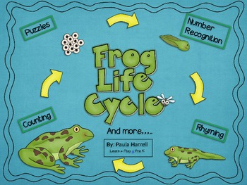 Frog Life Cycle and More! (Common Core Aligned)