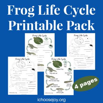 Frog Life Cycle printable pack
