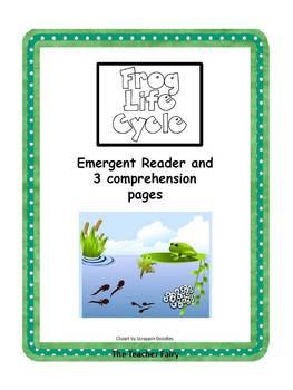 Frog Life - Emergent Reader