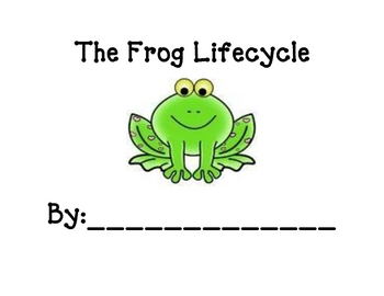 Frog Lifecycle Book