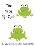 Frog Lifecycle Emergent Reader