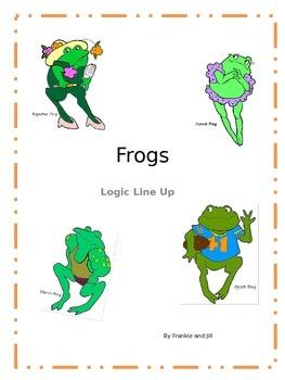 Frog Logic Line Up NO PREP!!! common core aligned