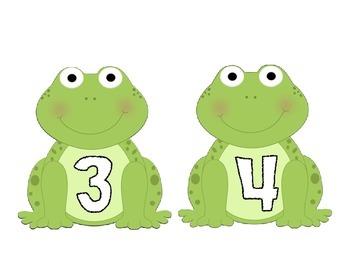 Frog Math Match