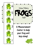 Frog Math Measuring Center