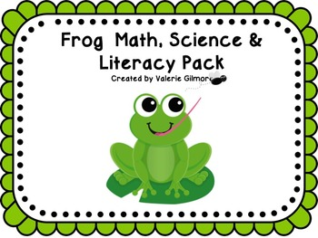 Frog Math Science and Literacy Pack