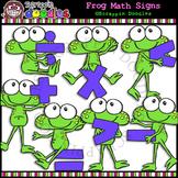 Frog Math Signs