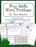 Frog Math Word Problems