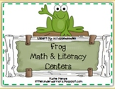 Frog Math and Literacy Centers