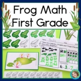 Frog Math for First Grade (Addition, Subtraction, Graphing & Measurement)