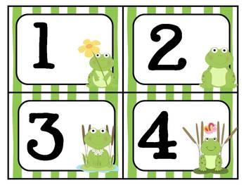 Frog Theme Math & Literacy Mega Pack ~ ABC, Numbers, Patterns, etc.