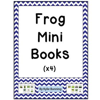 Frog Mini Books For Reading
