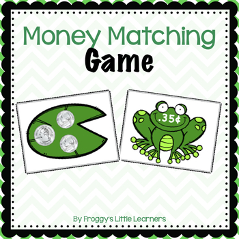 Frog Money Match