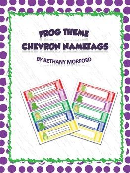 Frog Nametags