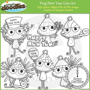 Frog New Year