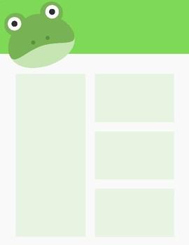 Frog Newsletter Template