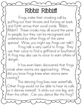 Frog Non-Fiction Pack