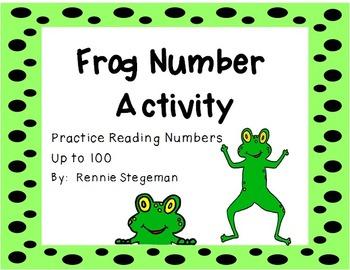 Frog Number Activity