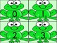 Green Frog Math Number Flashcards 0-100