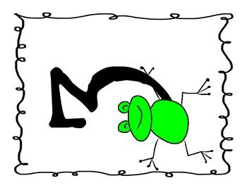 Frog Number Line 1-20