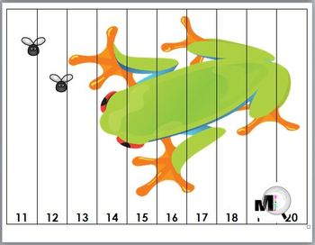 Frog Number Puzzles 1-20