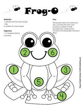 Frog O Math Games