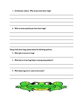 Frog Observation Lab