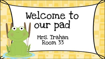 Frog Open House Powerpoint