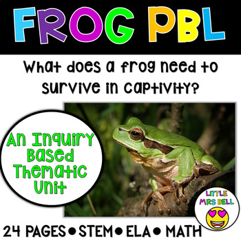 Frog Thematic Unit & Research Project