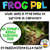 Frog Unit & Research Project First Grade