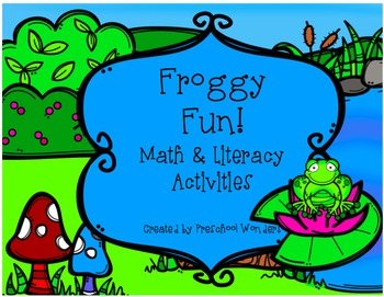 Froggy Fun Pack {Math, Science, and Literacy}