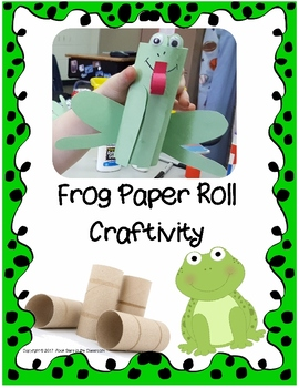 Frog Paper Roll Craftivity