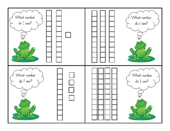Frog Place Value/I Have Who Has