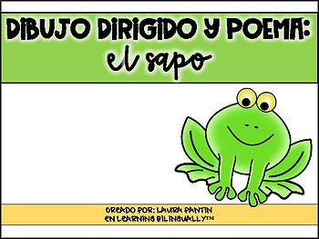 Frog Poem and Directed Drawing in Spanish