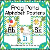Frog Pond Alphabet Decor Posters