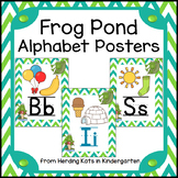 Frog Pond Alphabet Decor Posters