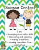Frog Theme Classroom Center Signs