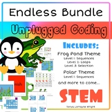 Unplugged Coding STEM Endless Bundle
