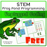 Frog Pond Programing STEM: An Unplugged Coding Activity