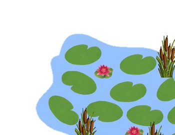 Frog Pond Sight Word Mat