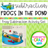 Frog Pond Subtraction Activity Set