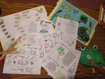 Frog Pond Theme Activities By Cathy S Preschool Ideas Tpt