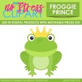 Frog Prince Clip Art (Digital Use Ok!)