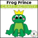 Frog Prince Craft | Fairytales Craft | Fairy Tale Activities | Princess and Frog