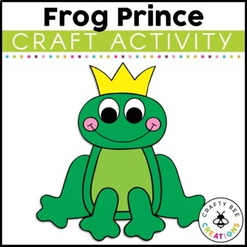 Frog Prince Cut and Paste