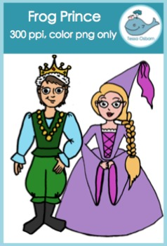 Frog Prince {Fairy Tale} Clipart