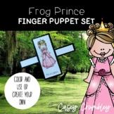 Frog Prince Fairy Tale Finger Puppet Retelling Set