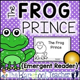 Frog Prince (Princess and the Frog) Emergent Reader