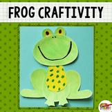 Frog Printable Craft Template
