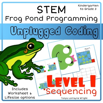 Frog Programing: Level 1 Sequences - A STEM Coding Activity